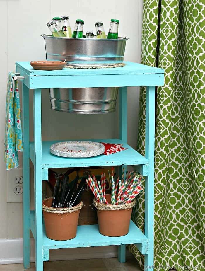 How to make a beverage station Petticoat Junktion