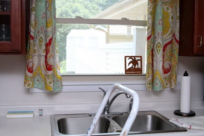 DIY Kitchen Curtains Petticoat Junktion