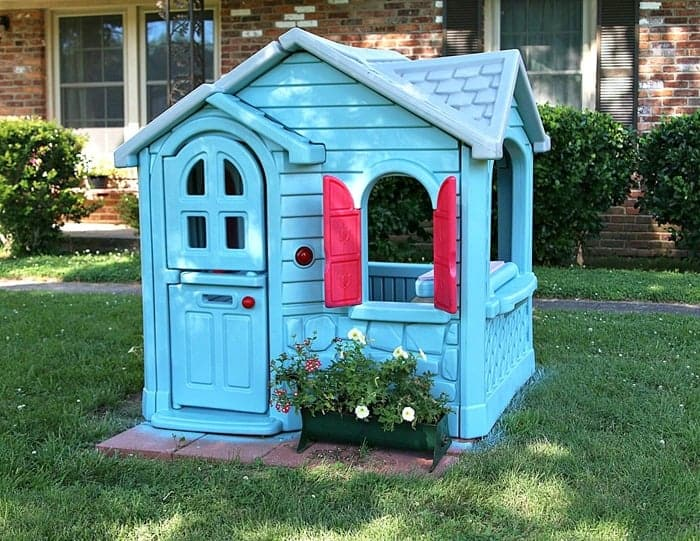 Little Tikes Playhouse Extreme Paint Makeover Petticoat Junktion