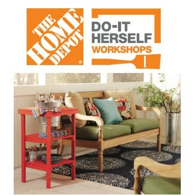 Home Depot Diy Workshops And A Party Petticoat Junktion