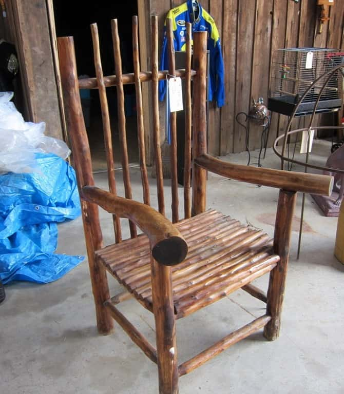 antique chair 400 Mile Yard Sale