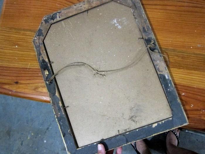 antique frame 400 Mile Yard Sale
