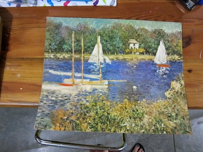 sailboat print 400 Mile Yard Sale