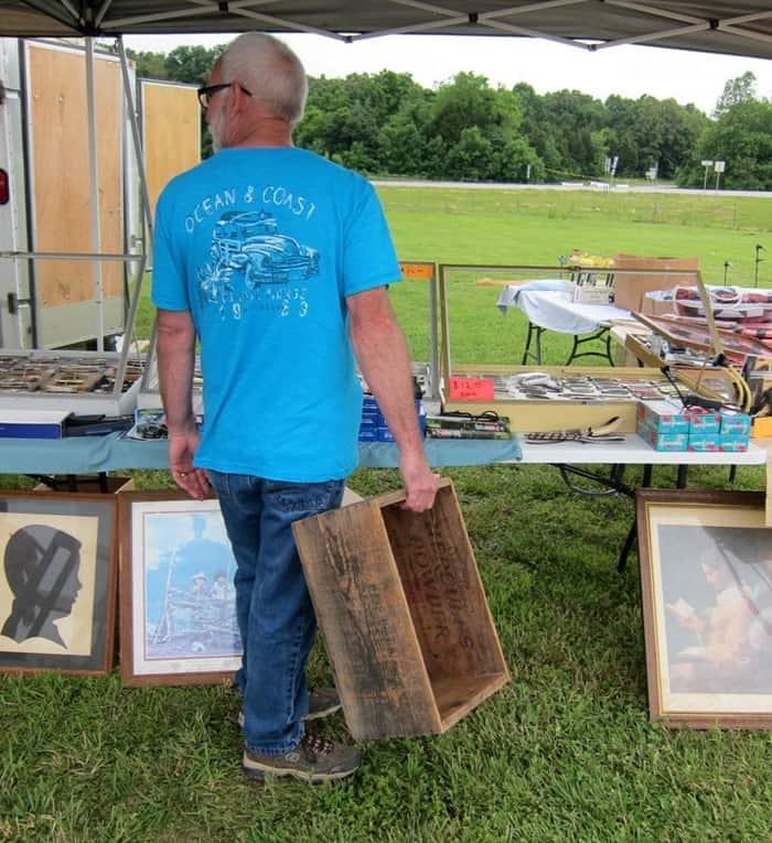 wood crate 400 Mile Yard Sale