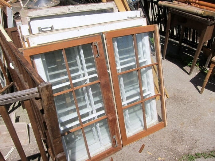 wood windows for crafts Petticoat Junktion
