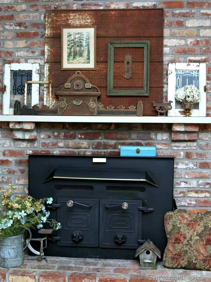 7 Tips To Make Mantel Decorating A Breeze Petticoat Junktion home decor project 4