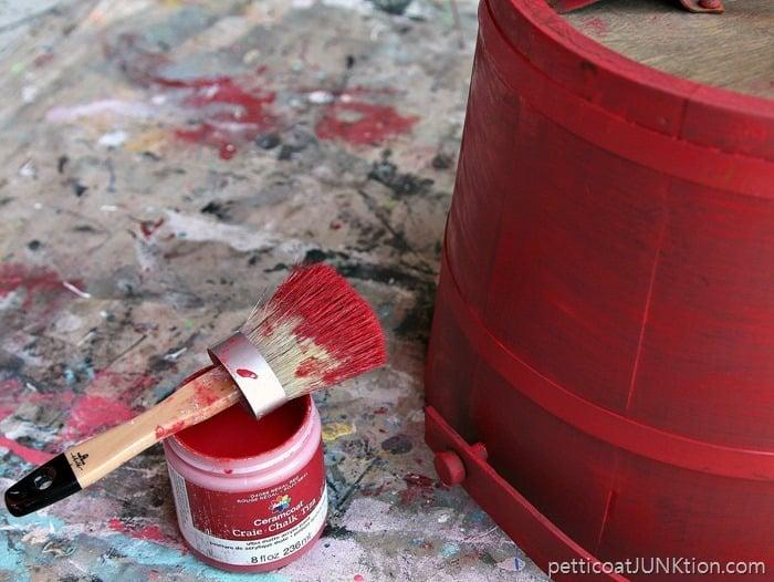 Ceramcoat Regal Red paint 1