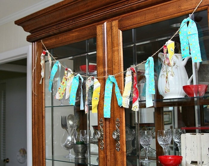 DIY Fabric Garland Petticoat Junktion project