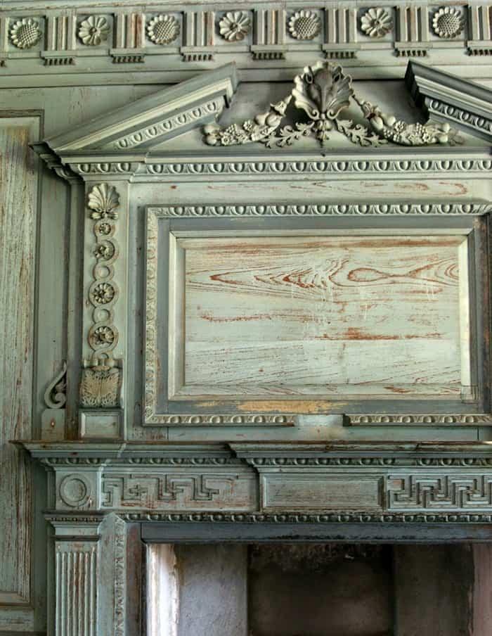Drayton Hall Fireplace mantel What Real Patina Looks Like