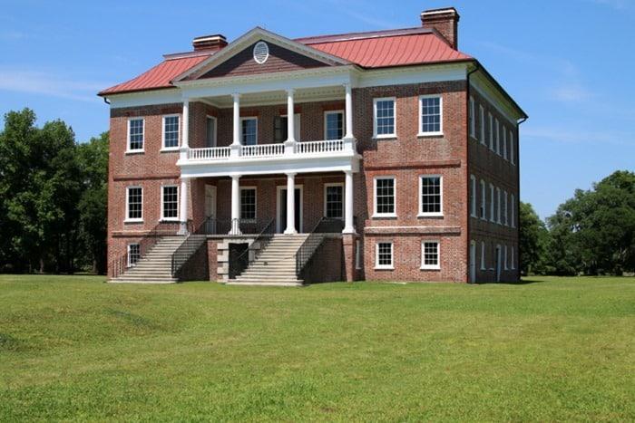 Drayton Hall Plantation House Charleston tour Petticoat Junktion