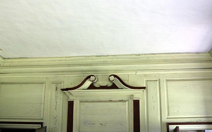 Drayton Hall wall color