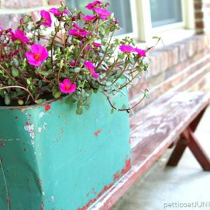 Fun Junky Finds Make Great Flower Planters