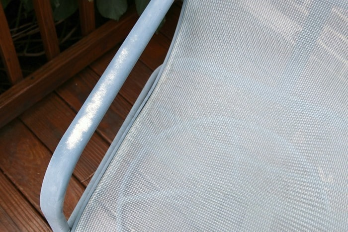 Old Metal Outdoor Furniture Before Makeover Petticoat Junktion