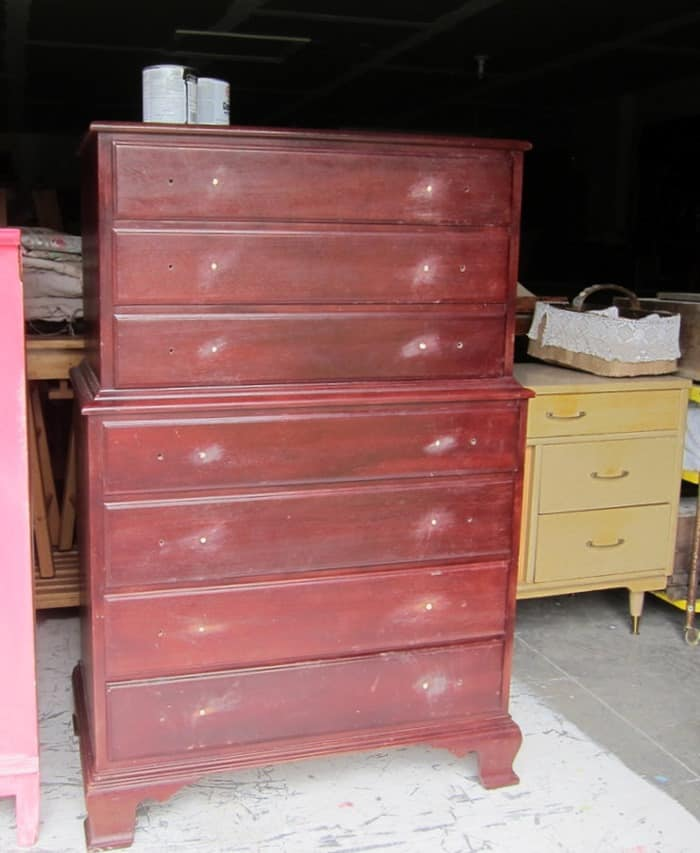 Tenley chest of drawers project
