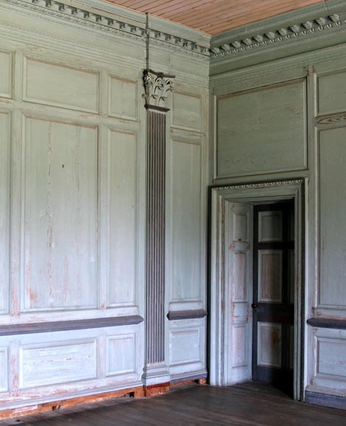 architectural detail Drayton Hall