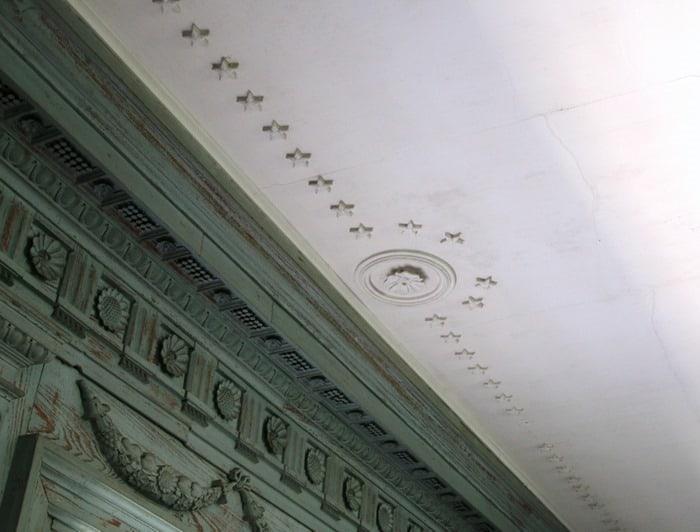 ceiling design Drayton Hall