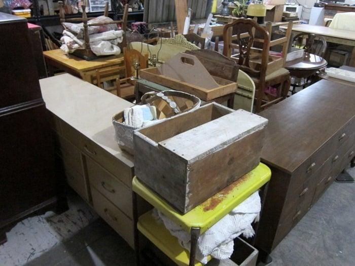 junk in the Owen Workshop
