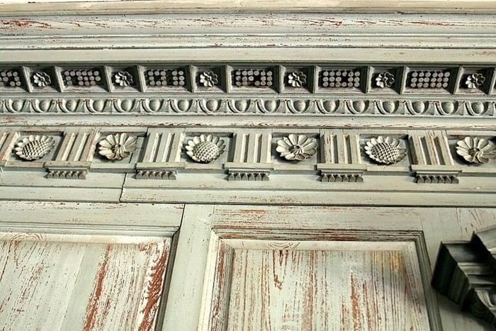ornate architecture Drayton Hall