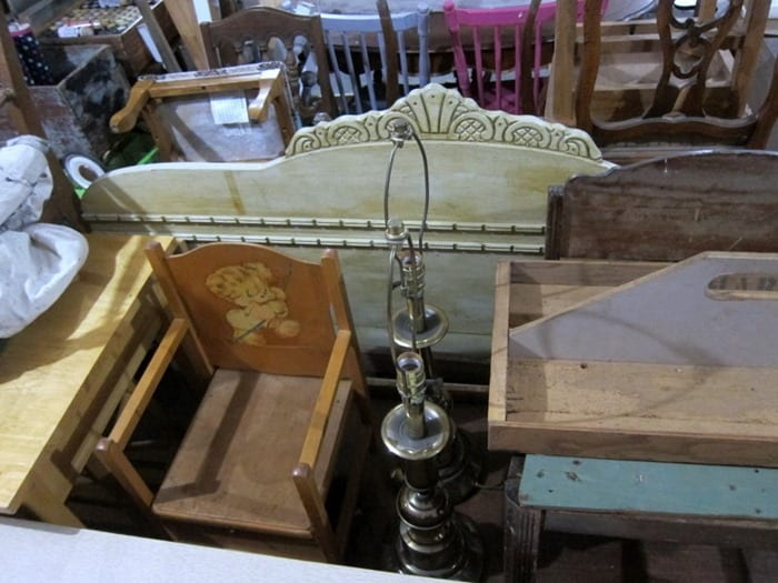 pair of lamps Owen Workshop