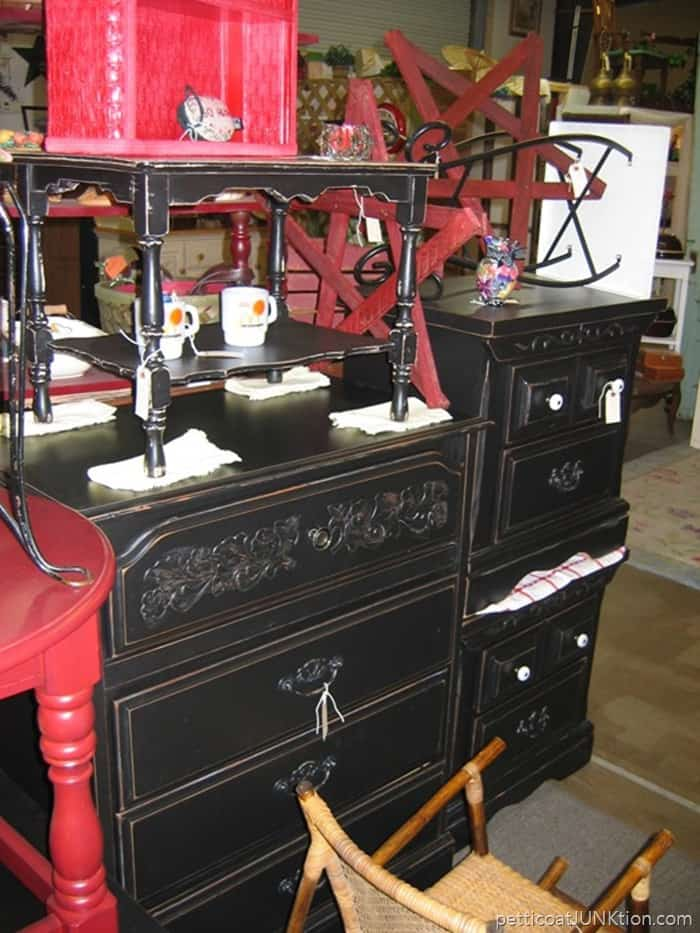 Alyssas Antique Depot Florida my booth black furniture