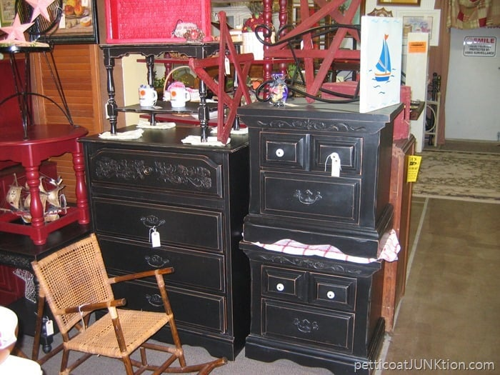 Alyssas Antique Depot Florida my booth painted furniture