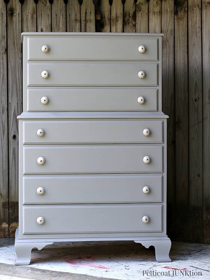 Granddaughter Paints Bedroom Furniture Gray Pettiocat Junktion