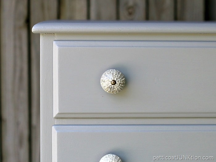 Hobby Lobby furniture knobs for Petticoat Junktion makeover