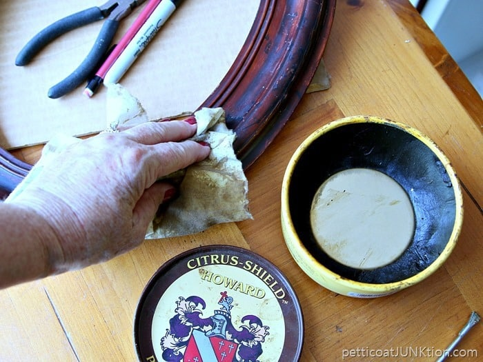Howards Paste Wax for reviving wood finishes