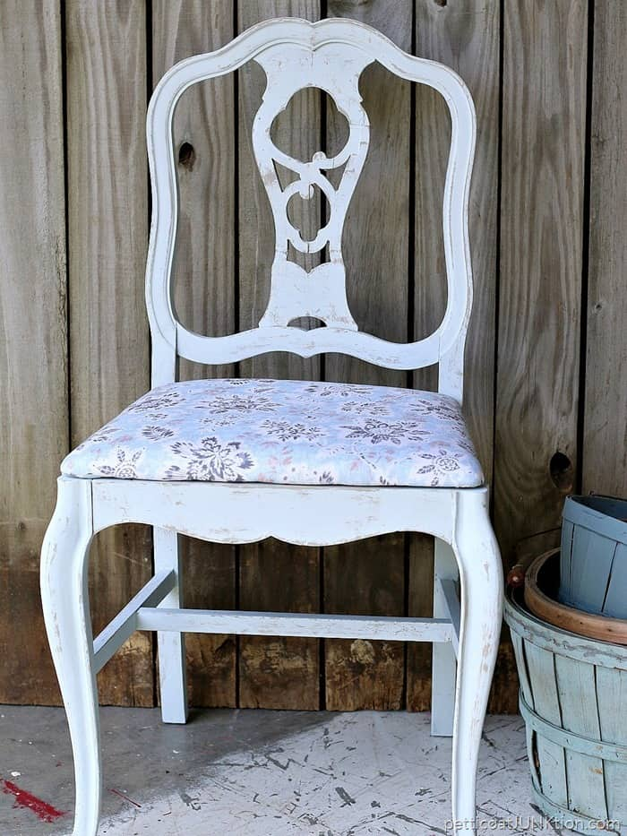 Waverly Inspirations Fabric and paint to match Petticoat Junktion