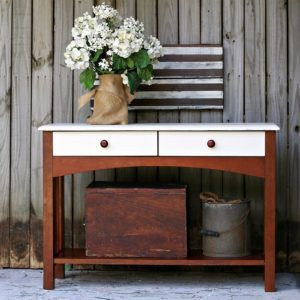 West Elm Inspired Sofa Table Project