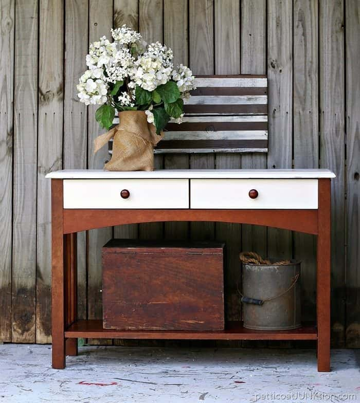 Reclaim Paint and a West Elm inspired furniture project