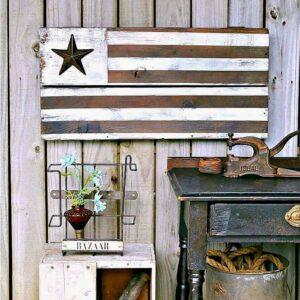diy wood flag idea