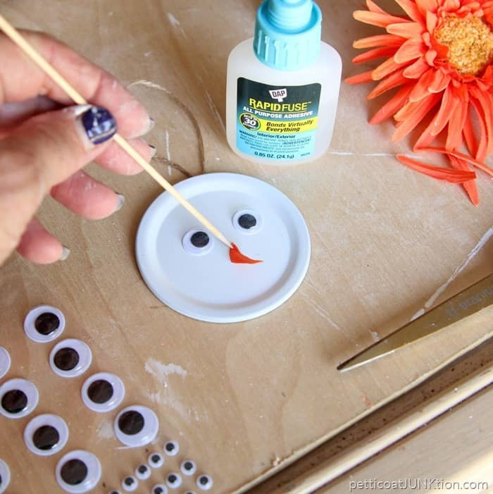Dap Rapidfuse to apply snowman nose
