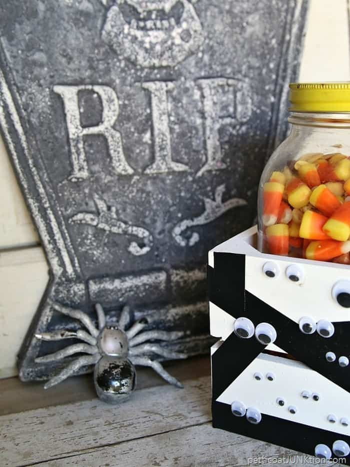 Mummies the word for this diy candy crate project