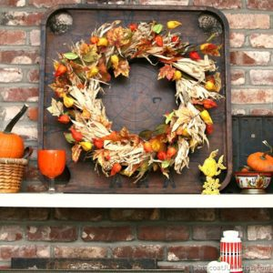 My Mantel Decor Has To Be Fun & Funky | Fall Decorating Ideas