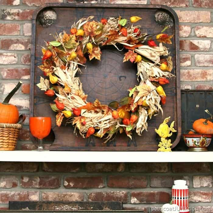 How to decorate a mantel Petticoat Junktion Fall Decorating Ideas