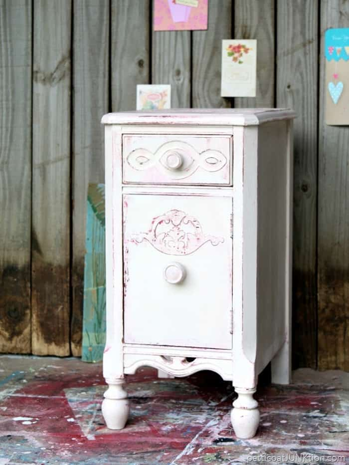 Shabby Chic Pink And White Furniture Petticoat Junktion