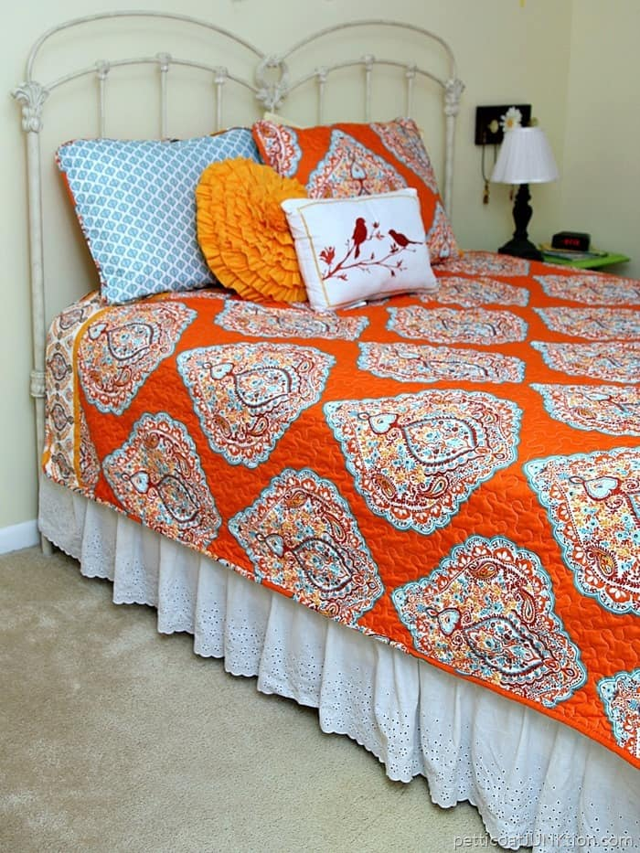 budget bedding set from Bargain Hunt