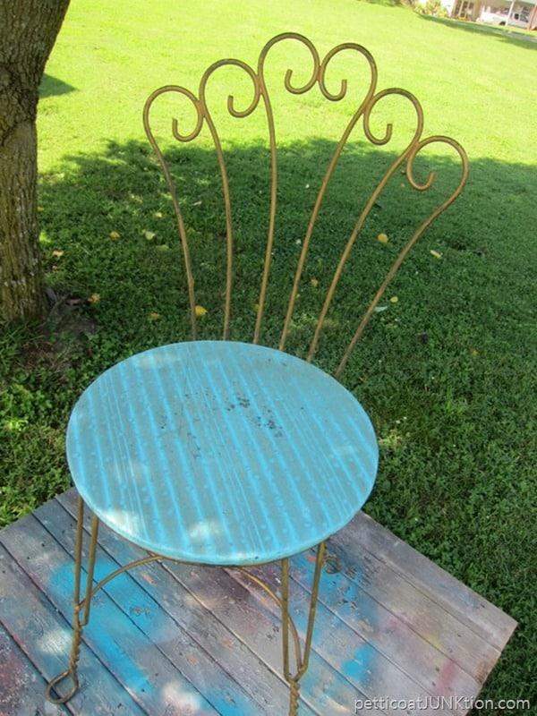 chair from Nashville Flea Market