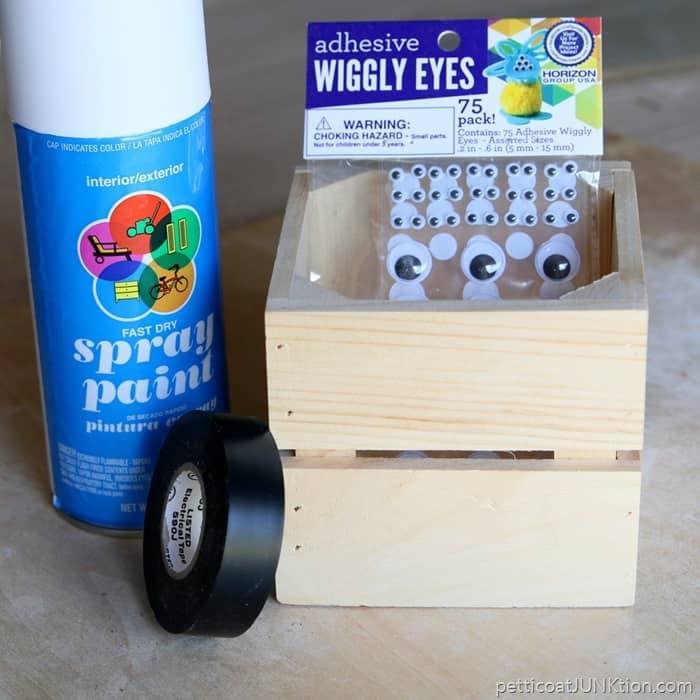 mummy diy treat crate supplies