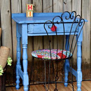paint vintage furniture