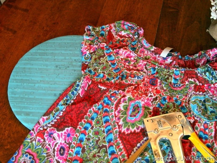 paisley print shirt for chair seat