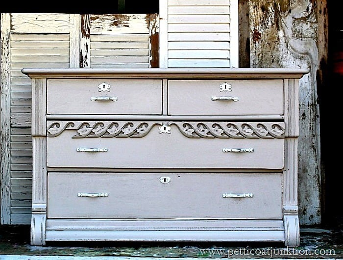 7 diy projects people love to hate antique dresser painted gray