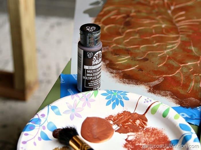 FolkArt Acrylic Paint Burnt Umber
