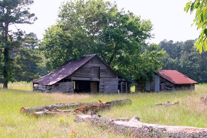 Grandfathers barn in Arkansas