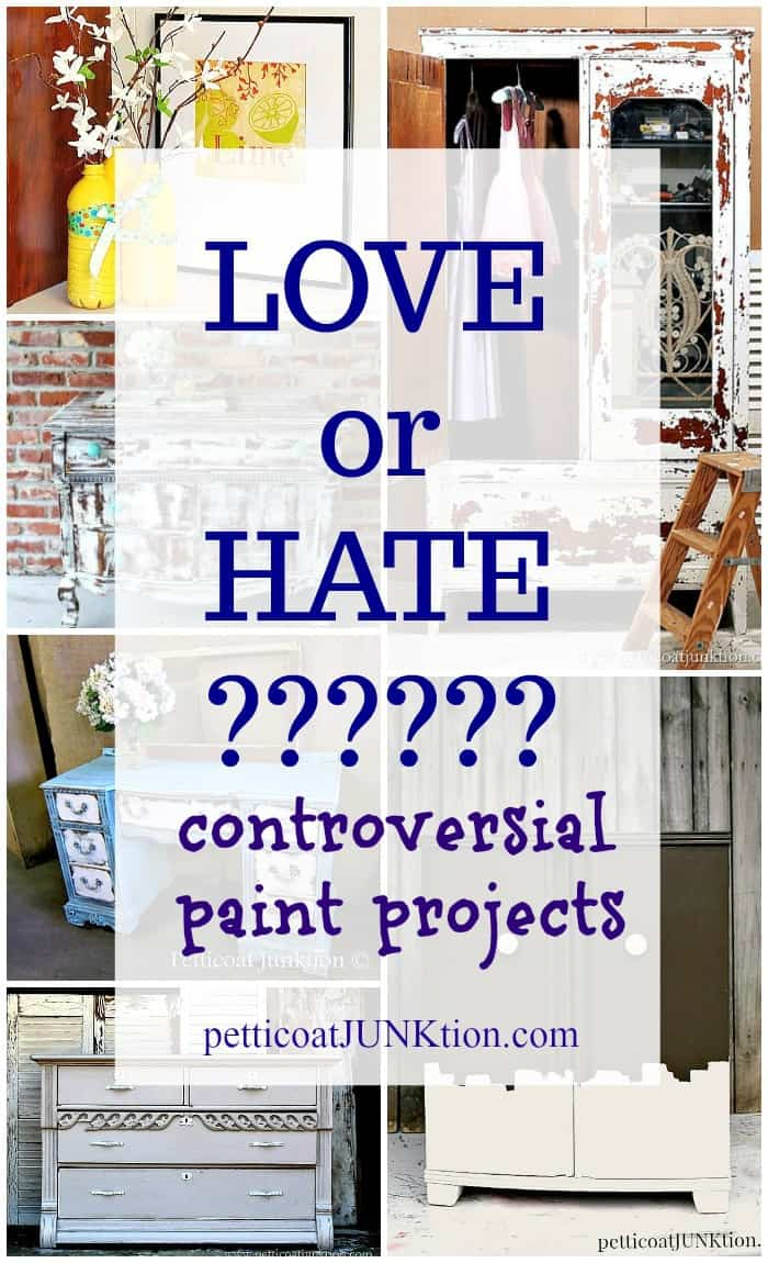 Bad DIY Projects? Do you love or hate these paint projects?