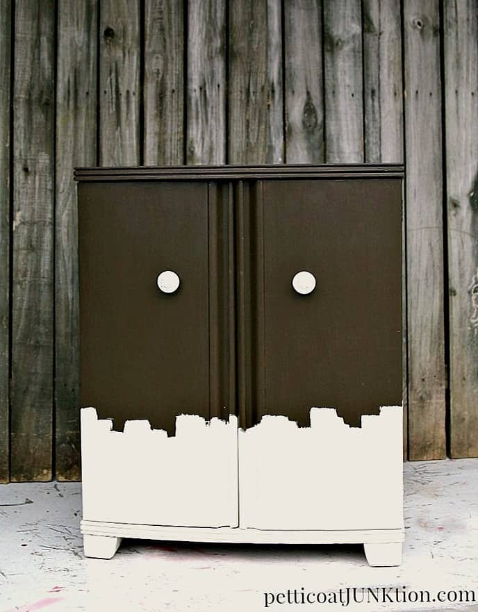 Painted Furniture Inspired By Chocolate And BHG Magazine Petticoat Junktion