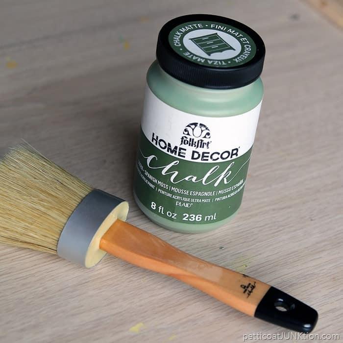Plaid FolkArt Chalk Spanish Moss