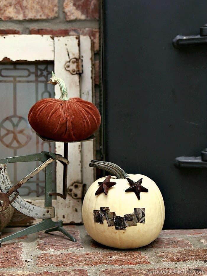 Starry Eyed Camouflage Pumpkins