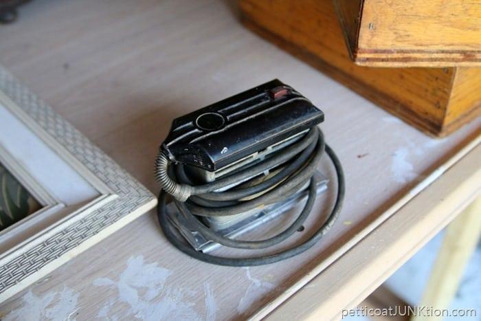 Vintage Dremel Sander Polisher junk find